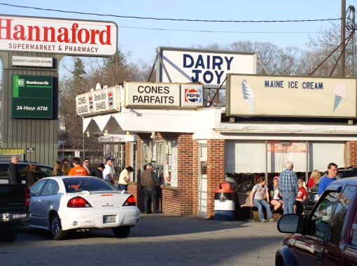 dairy joy biddeford maine ice cream